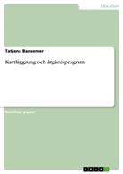 Tatjana Bansemer - Kartläggning och åtgärdsprogram