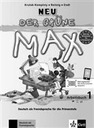 Ernst Endt, Elzbieta Krulak-Kempisty, Lidia Reitzig - Der grüne Max - Deutsch als Fremdsprache für die Primarstufe, Neubearbeitung - Bd.1: Arbeitsbuch, m. Audio-CD