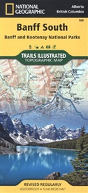 National Geographic Maps, National Geographic Maps, National Geographic Maps - Trails Illust, National Geographic Maps - National Geographic Trails Illustrated Maps: National Geographic Trails Illustrated Topographic Map Banff South