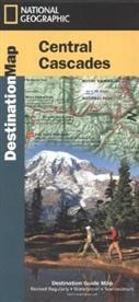 National Geographic Maps, National Geographic Maps, National Geographic Maps - National Geographic DestinationMaps - .: National Geographic DestinationMap Central Cascades