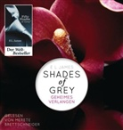 E L James, E. L. James, Merete Brettschneider - Shades of Grey - Geheimes Verlangen, 2 MP3-CDs (Hörbuch)