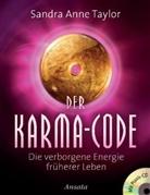 Sandra A Taylor, Sandra A. Taylor, Sandra Anne Taylor - Der Karma-Code, m. Audio-CD
