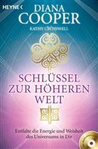 Coope, Dian Cooper, Diana Cooper, CROSSWELL, Kathy Crosswell - Schlüssel zur höheren Welt, m. Audio-CD
