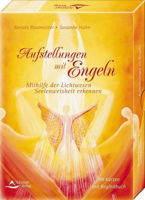 Renate Baumeister, Susanne Hühn - Aufstellungen mit Engeln, Engelkarten m. Buch - Mithilfe der Lichtwesen Seelenweisheit erkennen