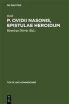 Ovid, Ovid, Henricu Dörrie, Henricus Dörrie - P. Ovidii Nasonis, Epistulae Heroidum