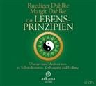 Margit Dahlke, Margrit Dahlke, Rüdiger Dahlke, Margrit Dahlke, Rüdiger Dahlke - Die Lebensprinzipien, 1 Audio-CD (Hörbuch)