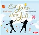 Liz Kessler, Laura Maire - Ein Jahr ohne Juli, 3 Audio-CDs (Hörbuch)