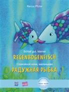 399595, Marcus Pfister - Schlaf gut, kleiner Regenbogenfisch: Deutsch-Russisch