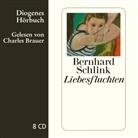 Bernhard Schlink, Charles Brauer - Liebesfluchten, 8 Audio-CD (Hörbuch)