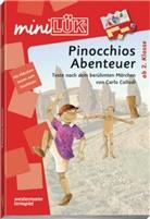 Carlo Collodi, Erika Reichert, Heinz Vogel - mini LÜK, Übungshefte: Pinocchios Abenteuer
