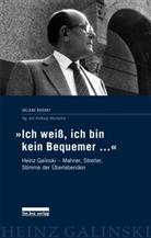 """Juliane Berndt, Andreas Nachama, Andrea Nachama, Andreas Nachama - """"Ich weiß, ich bin kein Bequemer..."""""""