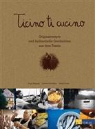 J. Chrétien, Juliette Chrétien, Fabi Corfú, Fabio Corfú, Corfù, F. Corfù... - Ticino ti cucino