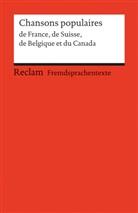Profos-Sulze, Elisabet Profos-Sulzer, Elisabeth Profos-Sulzer - Chansons de France, de Suisse, de Belgique et du Canada