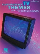 Not Available (NA), Hal Leonard Publishing Corporation - CONTEMPORARY TV THEMES PIANO, VOIX, GUITARE