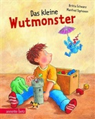 Schwar, Britta Schwarz, Tophoven, Manfred Tophoven, Manfred Tophoven - Das kleine Wutmonster, Geschenkbuch-Ausgabe