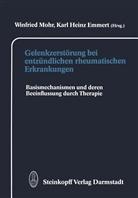 K. H. Emmert, K.H. Emmert, H Emmert, Mohr, W. Mohr - Gelenkzerstörung bei entzündlichen rheumatischen Erkrankungen