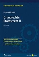 Bodo Pieroth, Bernhard Schlink - Grundrechte Staatsrecht II, m. CD-ROM