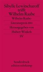 Sibylle Lewitscharoff, Hubert Winkels - Sibylle Lewitscharoff trifft Wilhelm Raabe