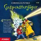 Cornelia Funke, Monty Arnold, Katja Brügger, Ernst H. Hilbich - Gespensterjäger, 4 Audio-CDs (Hörbuch)