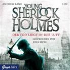 Andrew Lane, Jona Mues - Young Sherlock Holmes - Der Tod liegt in der Luft, 3 Audio-CDs (Hörbuch)