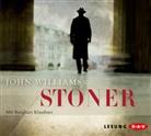 John Williams, Burghart Klaußner - Stoner, 8 Audio-CD (Hörbuch)
