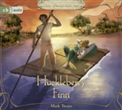 Mark Twain, Udo Wachtveitl - Huckleberry Finn, 3 Audio-CDs (Hörbuch)