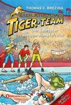 Thomas Brezina, Thomas C Brezina, Thomas C. Brezina - Ein Fall für dich und das Tiger-Team - Der Sportstar aus dem Monsterreich