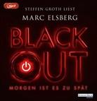 Marc Elsberg, Steffen Groth - BLACKOUT - Morgen ist es zu spät, 2 Audio-CD, (Hörbuch)