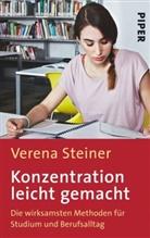 Verena Steiner, René Lambert - Konzentration leicht gemacht