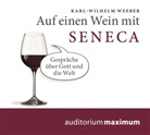 Karl Wilhelm Weeber, Karl-Wilhelm Weber, Hans-Henrik Wöhler, Luca Zamperoni - Auf einen Wein mit Seneca, Audio-CD (Hörbuch)