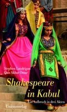 AKBAR OMAR, Qais Akbar Omar, Landriga, Stephe Landrigan, Stephen Landrigan, Qais Akbar Omar... - Shakespeare in Kabul