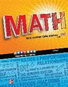 Carter et al, McGraw Hill, McGraw-Hill, Mcgraw-Hill Education, McGraw-Hill Glencoe, McGraw-Hill/Glencoe - Glencoe Math, Course 1, Student Edition, Volume 1
