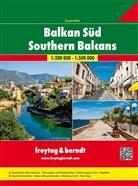 Freytag-Berndt und Artaria KG, Freytag-Bernd und Artaria KG - Freytag Berndt Atlanten: Freytag & Berndt Atlas Superatlas Balkan Süd. Superatlas Southern Balcans