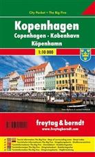 Freytag-Berndt und Artaria KG, Freytag-Bernd und Artaria KG - Freytag Berndt Stadtplan: Freytag & Berndt Stadtplan Kopenhagen City Pocket, 1:10.000. Copenhagen / Koebenhavn / Köpenhamn