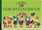 Margret Hoss, Hoss Margret, Elke Schuster, Elke und Timo Schuster, Timo Schuster, Margret Hoss - Zwergenstübchen: Zwergenstübchen - Geburtstagsbuch