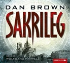 Dan Brown, Wolfgang Pampel - Sakrileg, 6 Audio-CDs (Hörbuch)