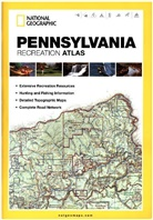 National Geographic Maps - Pennsylvania Recreation Atlas
