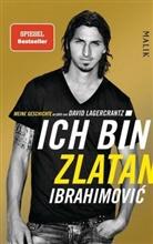 Ibrahimovi, Zlata Ibrahimovic, Zlatan Ibrahimovic, Zlatan Ibrahimović, Lagercrantz, David Lagercrantz - Ich bin Zlatan