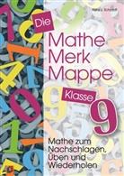 Hans J Schmidt, Hans J. Schmidt, Hans-Joachim Schmidt - Die Mathe-Merk-Mappe, Klasse 9