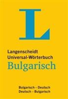Redaktio Langenscheidt, Redaktion von Langenscheidt - Bulgarisch-Deutsch / Deutsch-Bulgarisch