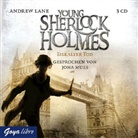 Andrew Lane, Jona Mues - Young Sherlock Holmes - Eiskalter Tod, 3 Audio-CDs (Hörbuch)