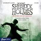 Andrew Lane, Jona Mues - Young Sherlock Holmes - Nur der Tod ist umsonst, 4 Audio-CDs (Hörbuch)
