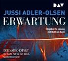 Jussi Adler-Olsen, Wolfram Koch - Erwartung, 8 Audio-CDs (Hörbuch)