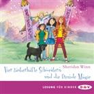 Marie Bierstedt, Sheridan Winn, Marie Bierstedt, Sheridan Winn - Vier zauberhafte Schwestern und die fremde Magie, 2 Audio-CDs (Hörbuch)