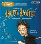 J. K. Rowling, Joanne K Rowling, Rufus Beck - Harry Potter, 14 MP3-CDs (Hörbuch)