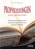 Erich Berge, r Erich Berge, Erich Berger - Prophezeiungen ernst genommen