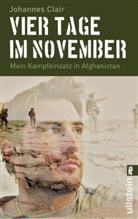 CLAIR, Johannes Clair - Vier Tage im November