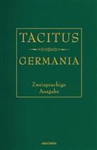 Tacitus, Tacitus, Cornelius Tacitus, Arno Mauersberger - Tacitus, Germania (Cabra-Lederausgabe)