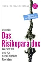 Ortwin Renn, Klau Wiegandt, Klaus Wiegandt - Das Risikoparadox