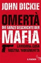 John Dickie - Omertà - Die ganze Geschichte der Mafia